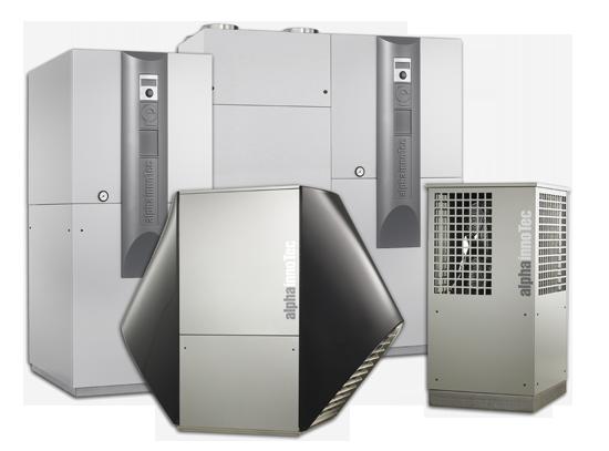 Renoc bietet auch Wärmepumpen von Alpha-Innotec