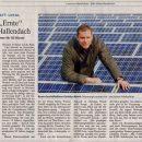 Sonne liefert Strom für 50 Häuser