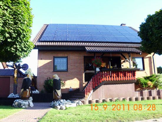 Photovoltaikanlage in Schmerkendorf - realisiert von Renoc