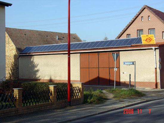 Photovoltaikanlage von Renoc in Finsterwalde