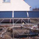Solaranlage in Pechhütte