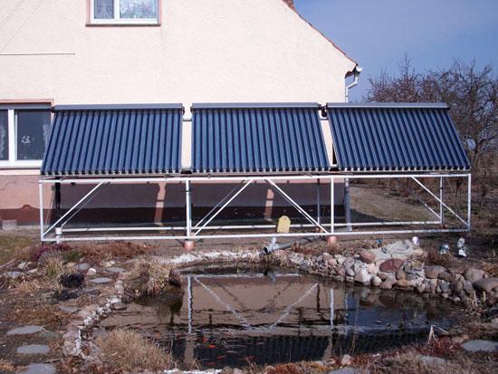 Solaranlage realisiert von Renoc in Pechhütte