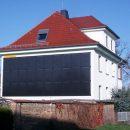PV-Anlage an der Fassade