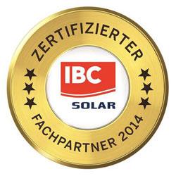 Renoc Fachpartner von IBC Solar