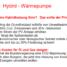 Gas Hybrid Wärmepumpenanlage
